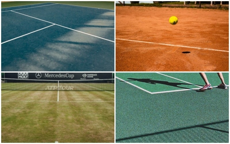 The Different Types Of Tennis Court Surfaces (Explained)