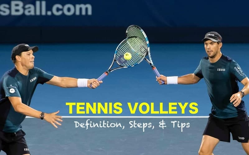 Tennis Volleys: Definition, Steps & Tips (with Photos)