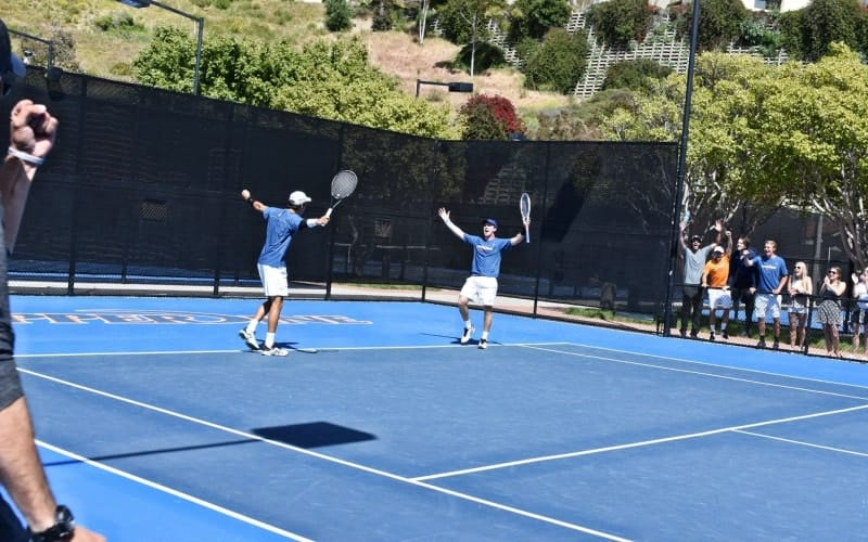 How Do College Tennis Matches Work?