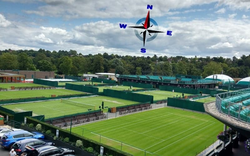 Do Tennis Courts Face North/South?