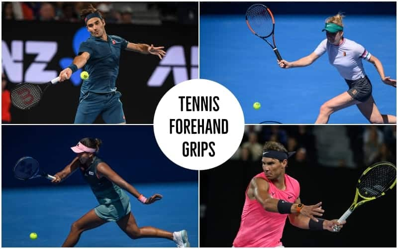 Tennis Forehand Grip - Continental, Eastern, Western