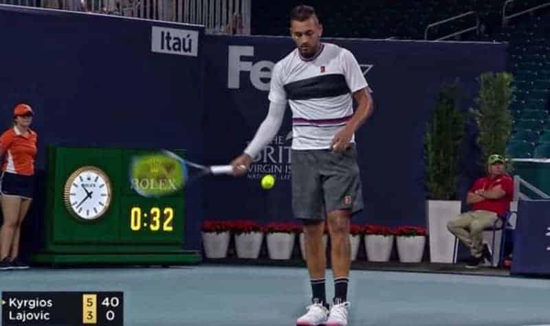Tennis Underhand Serve Rules