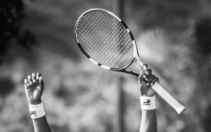 What are tennis strings made of?