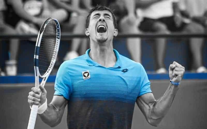 What is a break points in tennis?