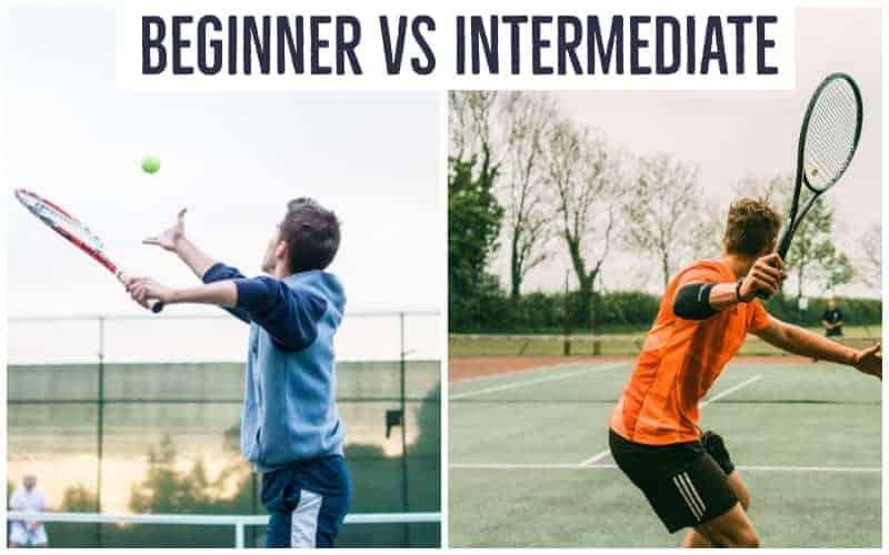 Tennis Beginner vs Intermediate